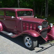 1932 Chevy hot rod, coupe