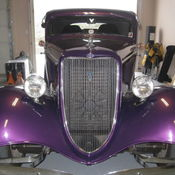 1934 Ford 3 window coupe Streetrod & 1934 Ford 3 Window Coupe High Boy StreetrodAutoCold ACCustom ... markmcfarlin.com