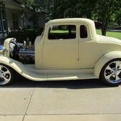 1934 Plymouth PE Coupe 1933 34 33 Dodge Mopar Rat Rod 1932