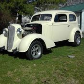 1936 CHEVY GASSER RAT ROD PICKUP