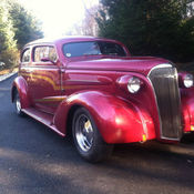 1937 CHEVY MASTER DELUXE STREET ROD
