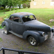 1950s Chevy coupe Gasser project