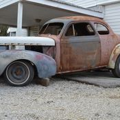 1940 CHEVROLET COUPE PROJECT RAT ROD HOT ROD GASSER