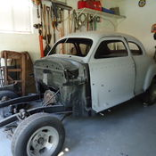 1942 CHEVROLET COUPE SPECIAL DELUXE TRADITIONAL HOT RAT ROD