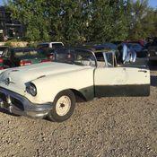 1958 OLDSMOBILE SUPER 88 ROCKET BARN FIND!!!! HOTROD