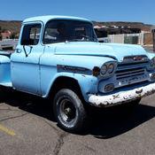 1959 Chevrolet Apache - NAPCO 4x4 plus a parts truck