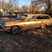 1964 Chevrolet Chevelle Malibu 2dr Wagon Nice Project Car