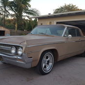 1964 OLDSMOBILE DYNAMIC 88 CONVERTIBLE COUPE