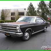 1966 Ford Fairlane XL 2 Owner Muscle Classic Factory Black