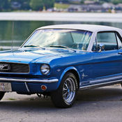 1966 Ford Mustang Pony Package Automatic 3Speed RWD I6 33L Gasoline