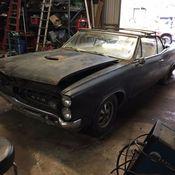 1967 pontiac gto 67 4 speed barn find rare ram air project original