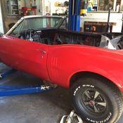 1967 Pontiac Firebird Two Door Project Convertible Car 100 % All