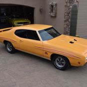 1970 Pontiac GTO Judge Look FREE Shipping Orbit Orange 4
