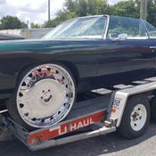 1973 Chevy Caprice convertible, new interior, paint, top
