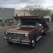 1977 Ford F 350 Wedge Bed Car Hauler