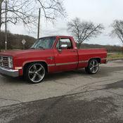 84 Chevrolet C10 6 0 LS Swap