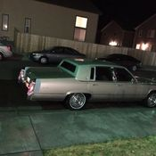 1990 Cadillac Brougham d'Elegance 5 7 V8 with 62K miles! NO