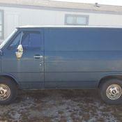 1991 CHEVY G10 SHORTY VAN NO WINDOWS CARGO V8 NICE ORIGINAL