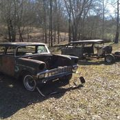 A beautiful 1957 Chevrolet Bel Air Nomad from TEXAS for sale