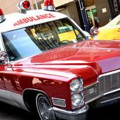 Antique1968 Miller Meteor Cadillac ambulance vintage (1966