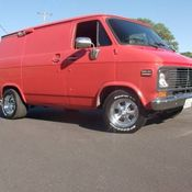 c156641cb4 rare hard to find 72  Chevy no windows shorty Van