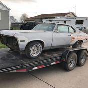 Awesome 1971 Chevy Nova Project Car!!