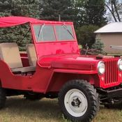 1947 Willys Jeep CJ2A Barn Find with Clean Title Project Jeep