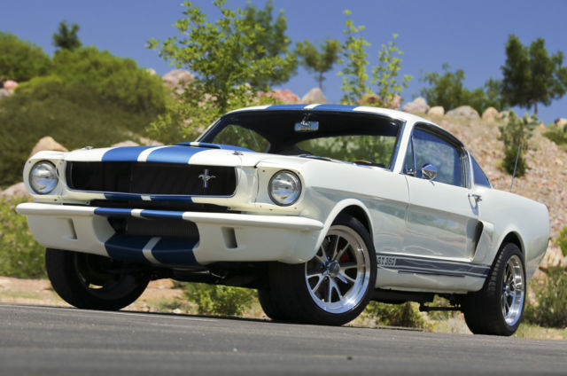 1 Of 3 1966 FORD MUSTANG FASTBACK PROTOURING SHELBY GT350R TRIBUTE GT350R2