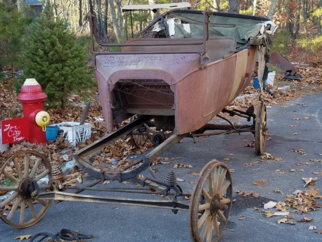 1916 Model T Ford Touring Project Car