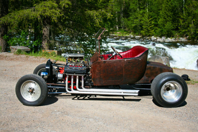 1917 Ford Modle T Rat Rod Street Rod Hemi 4 Speed See