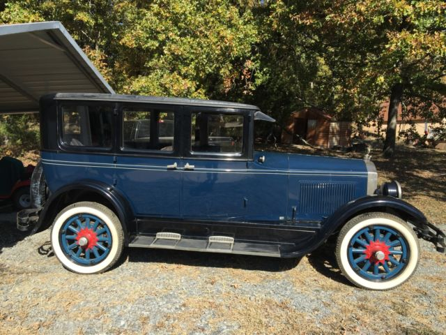 1927 buick 4 door sedan for 1927 nash 4 door sedan