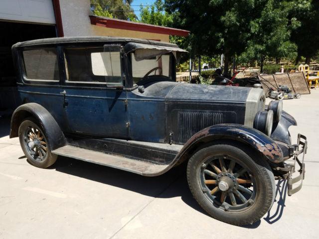 1927 Buick Blue 2 Door All Original Standard