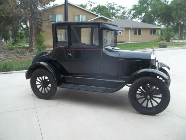 1927 ford model t coupe ruxtell two speed rear great driver reliable restoration. Black Bedroom Furniture Sets. Home Design Ideas