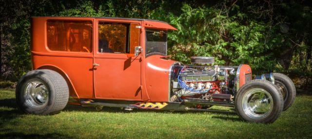 1927 ford model t sedan vintage old school steel hot rod for 1927 ford model t 4 door sedan