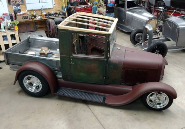 1928 1929 Ford Model A Truck Street Rod Hot Rod
