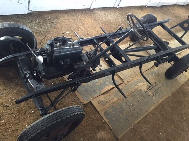 1928 1929 ford model aa truck chassis with drivetrain model a frame no reserve - Model A Frame