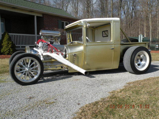 1928 Ford Model A Truck Hotrod Street Rod Pickup Rat Rod