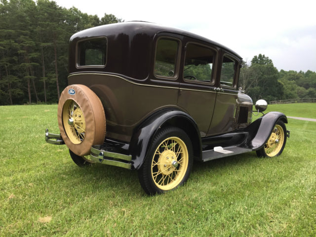 1929 ford model a 3 window fordor four door sedan murray 165 a no reserve for 1929 ford model a 4 door sedan