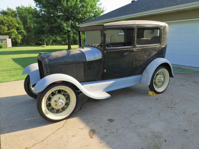 1929 model a ford tudor 2 door sedan lots of new parts w title hotrod ratrod for 1929 ford model a 4 door sedan