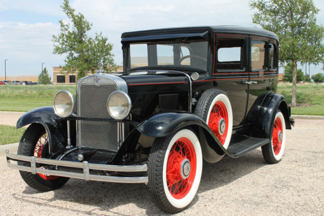 1930 chevrolet series ad 4 door sedan professional frame