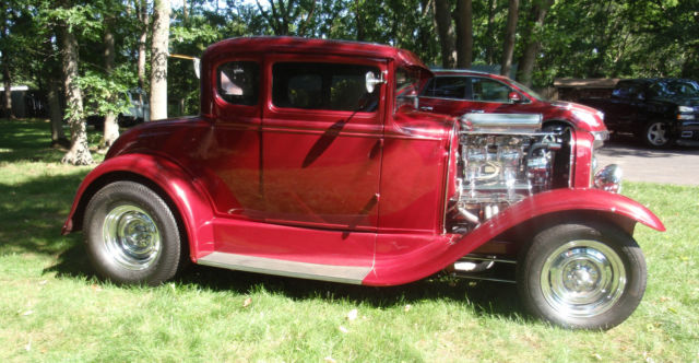 1930 ford model a 5 window coupe street rod for 1930 model a 5 window coupe