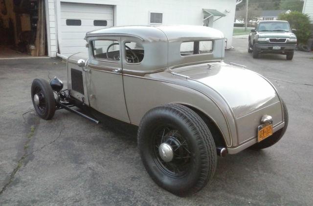 1930 model a ford on 32 ford frame - Model A Frame