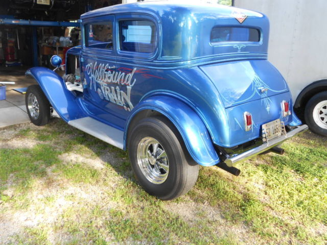1931 Chevrolet 5 Window Coupe Blown 389 4sp Gasser Street