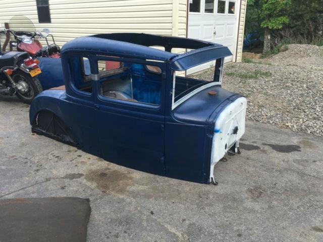 1931 ford model a coupe body rat hot street rod custom flathead steel look rare. Black Bedroom Furniture Sets. Home Design Ideas