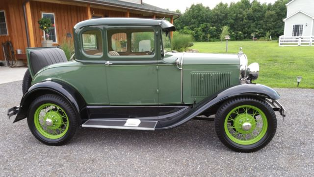 1931 ford model a deluxe rumble seat 5 window coupe all for 1931 ford model a 5 window coupe