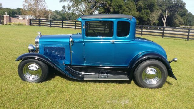 1931 ford model a hot rod v8 5 window coupe for 1931 ford 5 window coupe hot rod