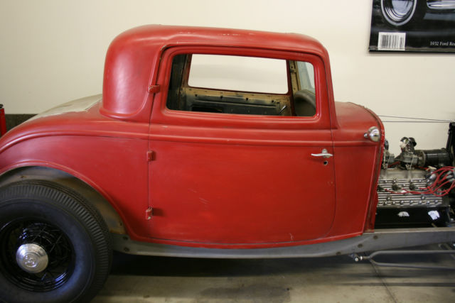 1932 ford 3 window coupe original steel body hot rod for 1932 ford 3 window coupe steel body