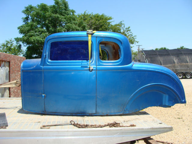 1932 ford chop top 5 window coupe body henry ford steel for 1932 ford 5 window coupe steel body kits