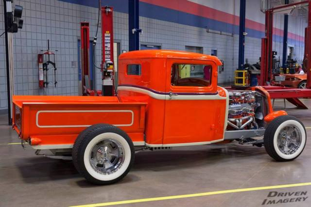 1932 Model A Hot Rod Pickup Truck 348 Chevy W 3 2 S