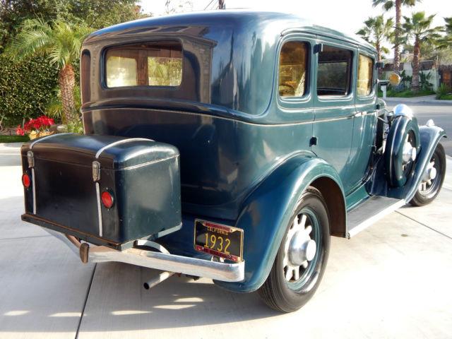 1932 Studebaker Dictator 8 Regal 4 Door Sedan With 50 000